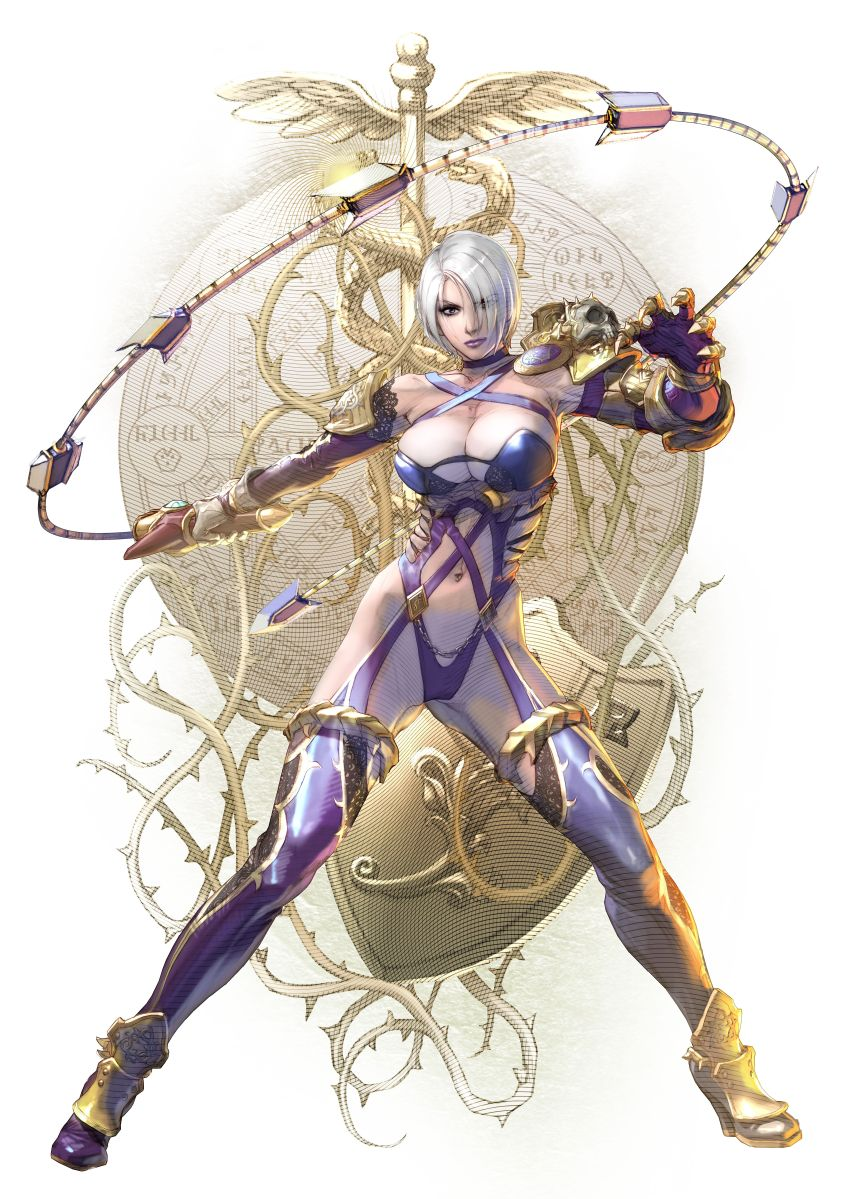 A Soulcalibur History Of Ivy Valentine's Fashion Sense, Or Lack Thereof