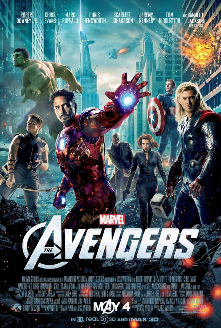 The Avengers 2012 Poster