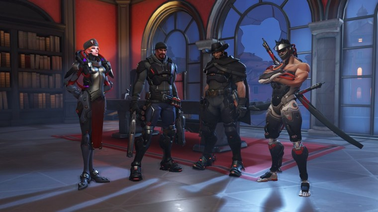 Retribution casts players as Blackwatch members McCree, Moira, Genji, and Reyes in pursuit a high-ranking member of the Talon organization