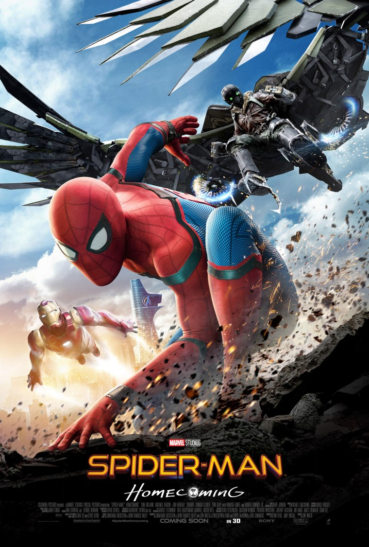 Spider-Man Homecoming 2017 Poster