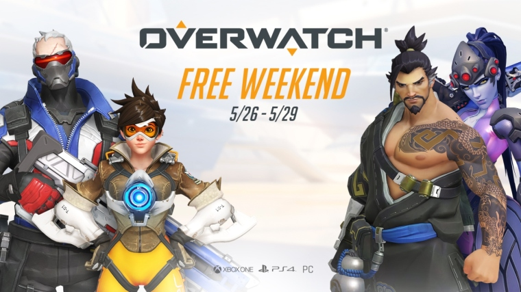 Overwatch and the Anniversary event will be playable during our Free Weekend event, which will run from May 26th through May 29th