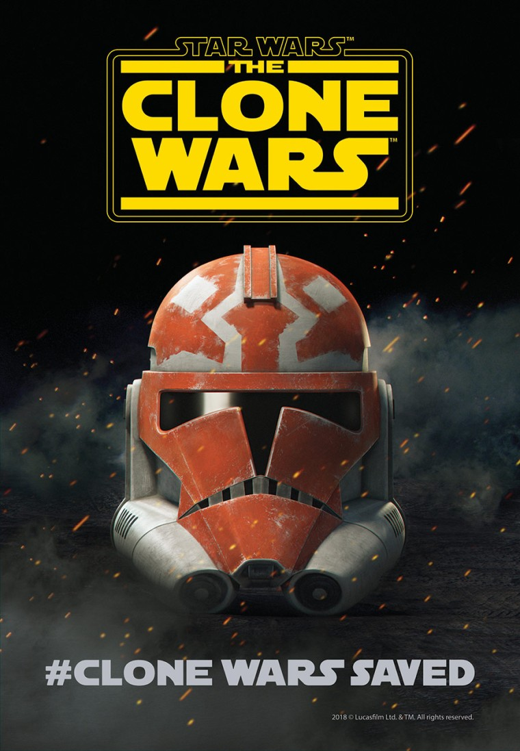 Star Wars The Clone Wars Season 7 Official Poster