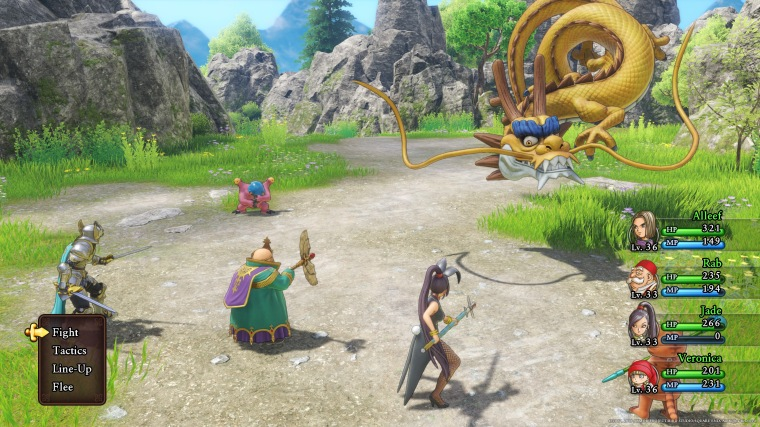 Dragon Quest 11 Gameplay