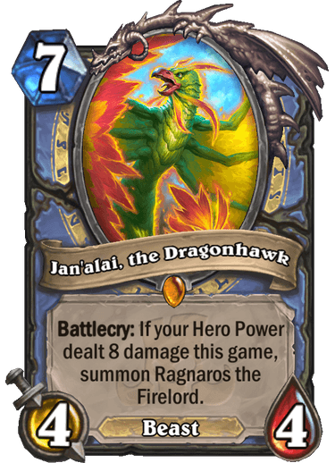 Hearthstone Rastakhan Rumble Jan'alai