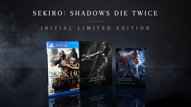 Sekiro Shadows Die Twice Physical and Digital Editions